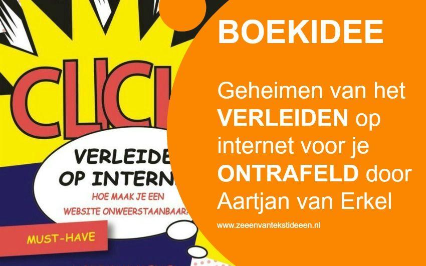 Boek Verleiden op internet - auteur Aartjan van Erkel