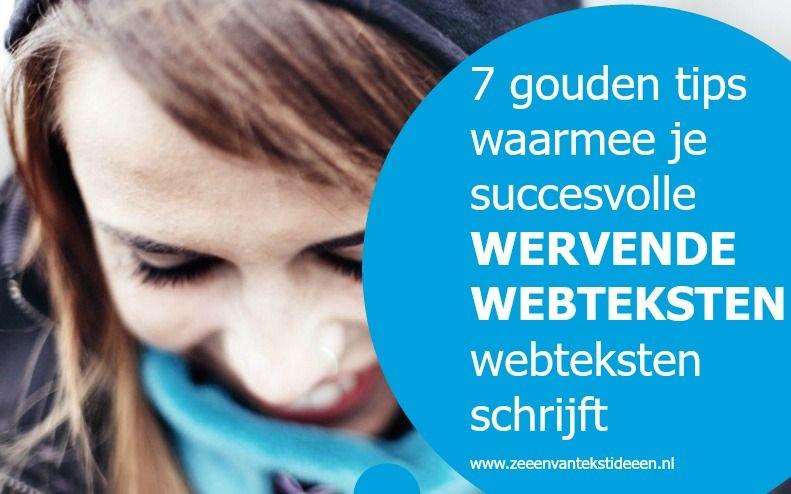 7 gouden tips waarmee je succesvolle wervende webteksten schrijft