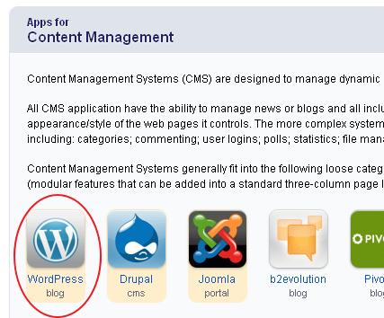 Application Installer WordPress - apps voor contentmanagement