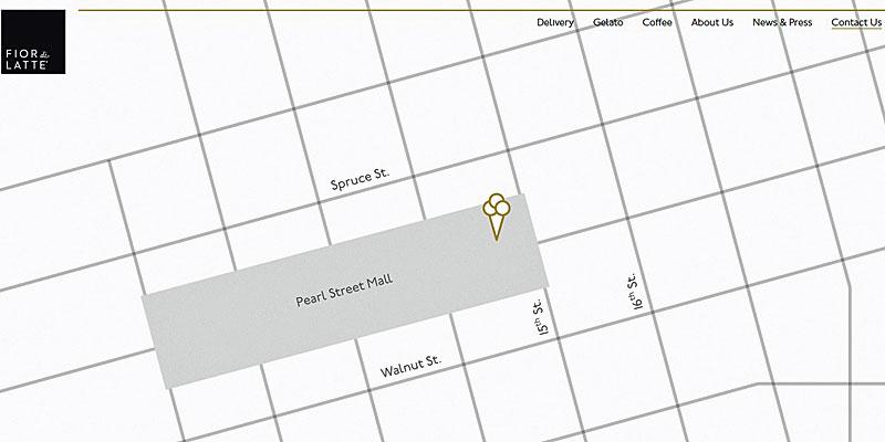 Contactpagina met kaart voor je website maken